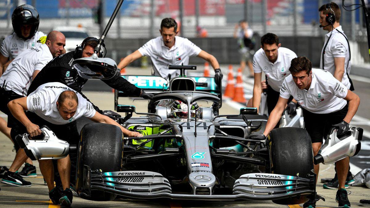 Lewis Hamilton (Mercedes) - GP of Russia 2019