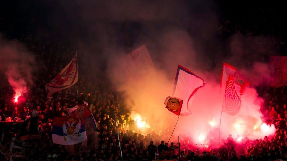 Stella Rossa-Partizan Belgrado - Marakana, Superliga 2019/2020 - Getty Images