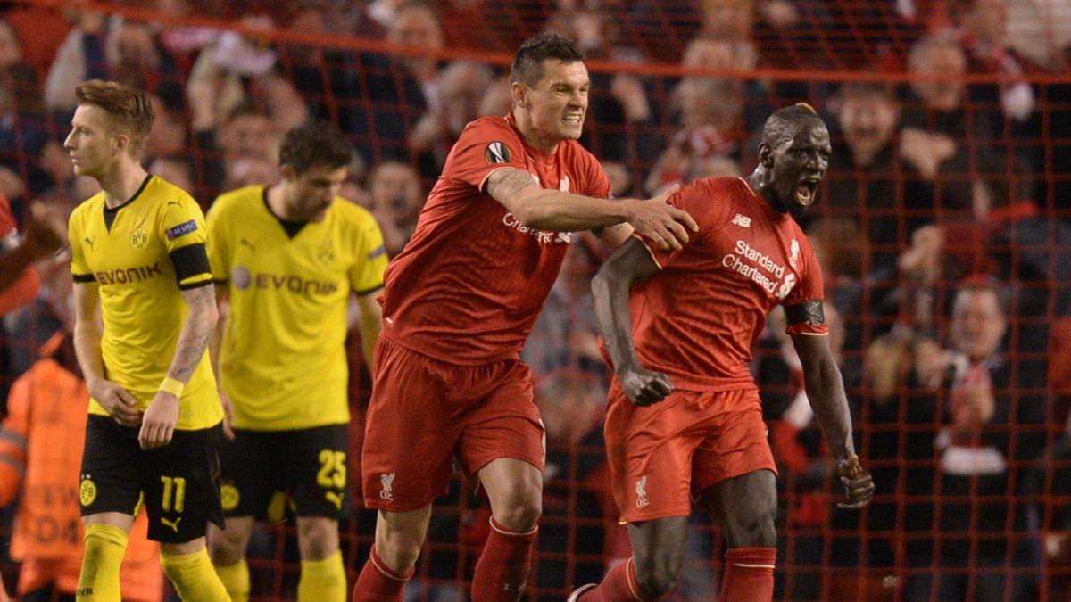 Borussia Dortmund schied gegen den FC Liverpool in der Europa League aus