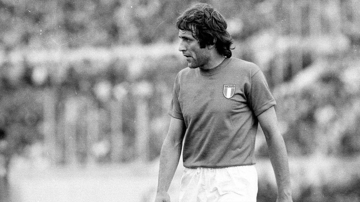 Mauro Bellugi con la maglia della Nazionale nel 1973, Imago,