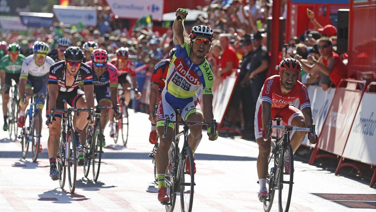 Peter Sagan gewinnt die dritte Etappe der Vuelta