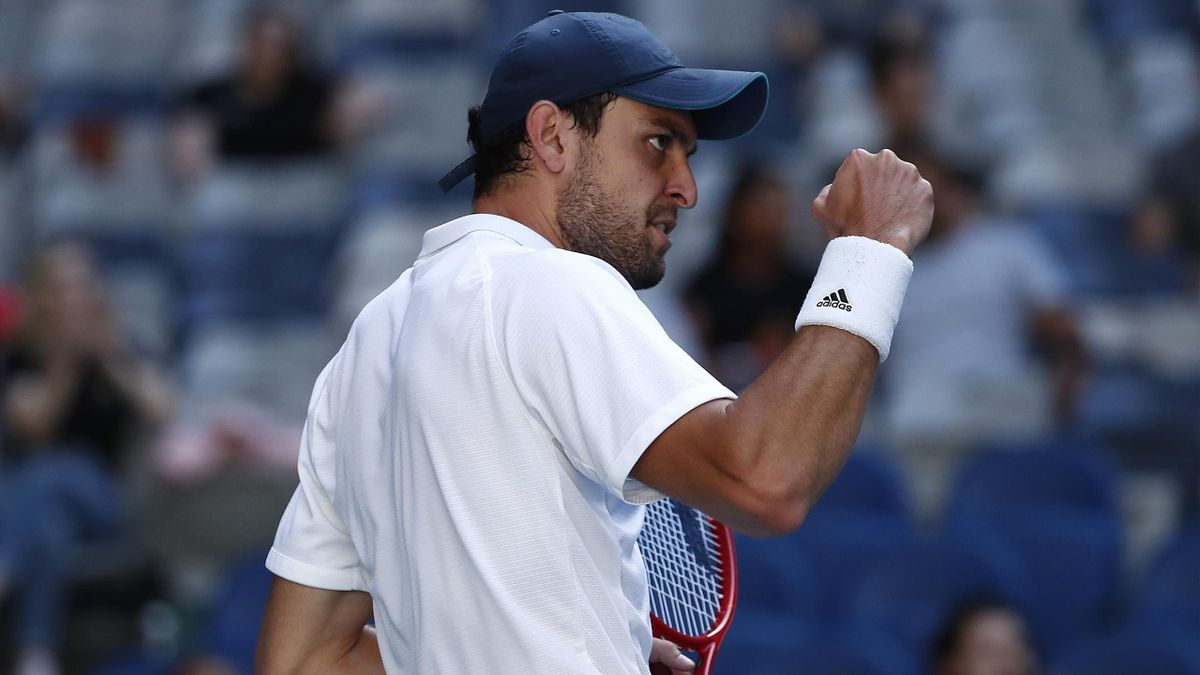 Aslan Karatsev à l'Open d'Australie