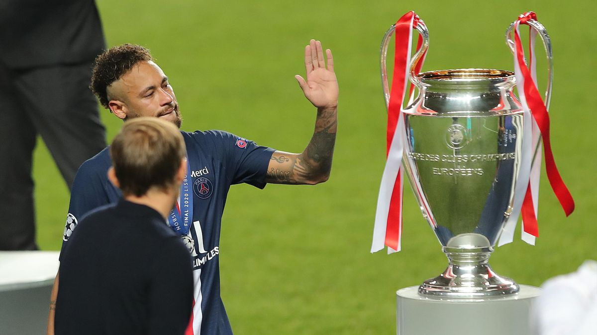 Neymar and PSG were within touching distance of the Champions League last season
