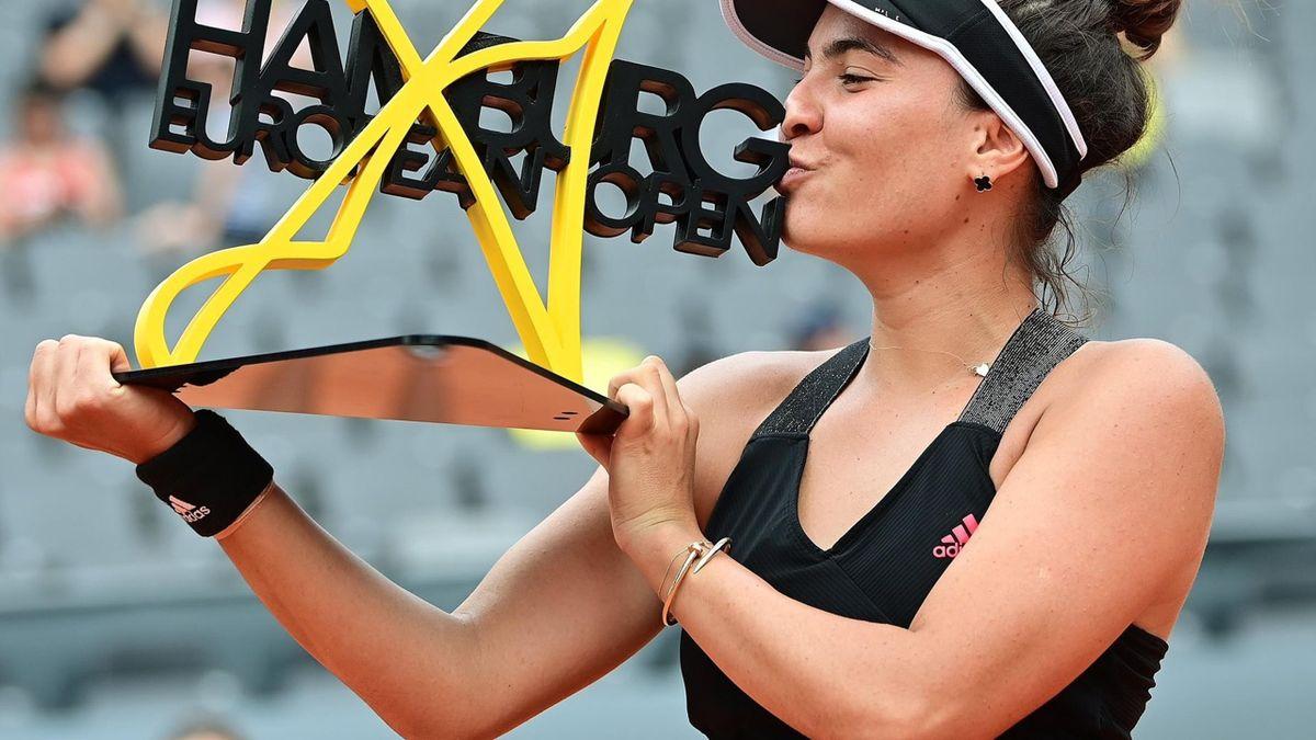 Gabriela Ruse, campioană la Hamburg (sursă foto: Twitter)