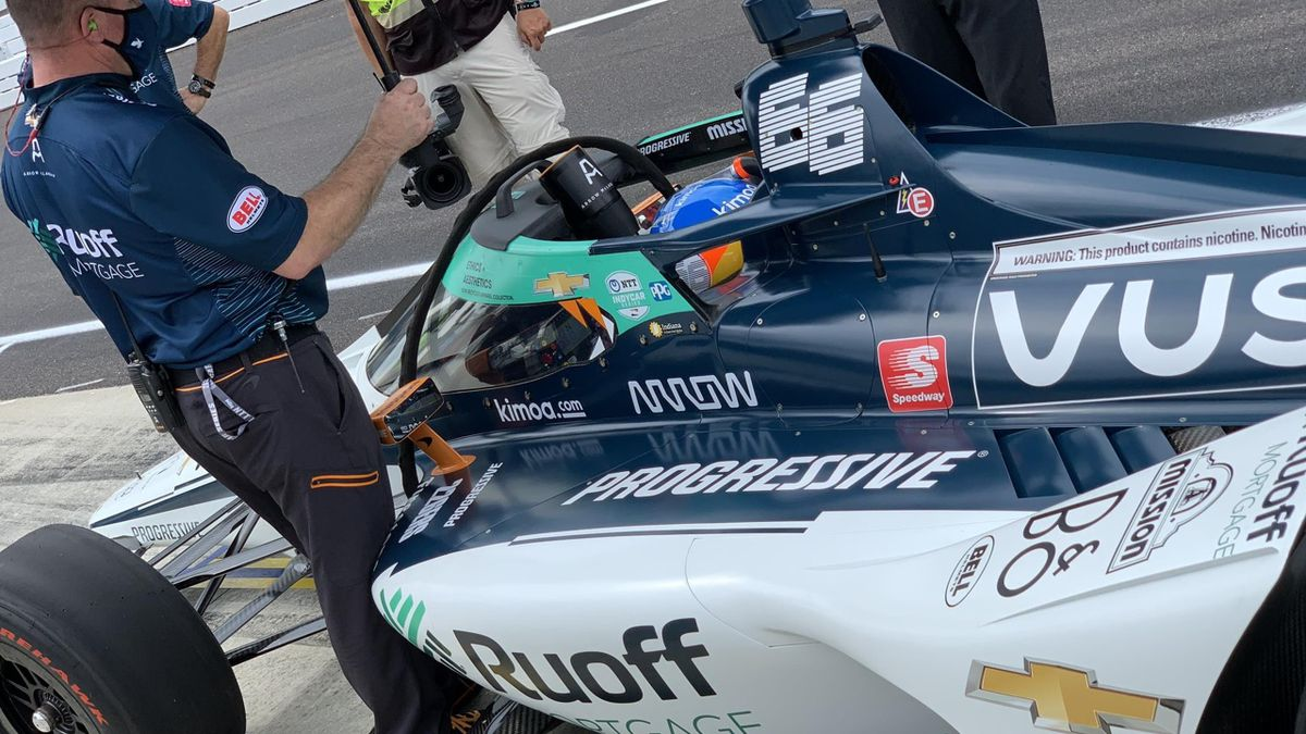 Fernando Alonso (Arrow McLaren). 500 Millas de Indianápolis