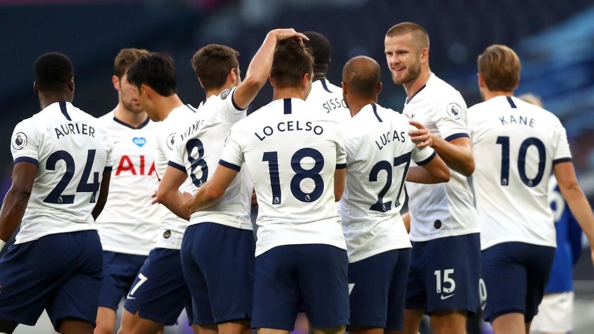 Tottenham beat Everton 1-0