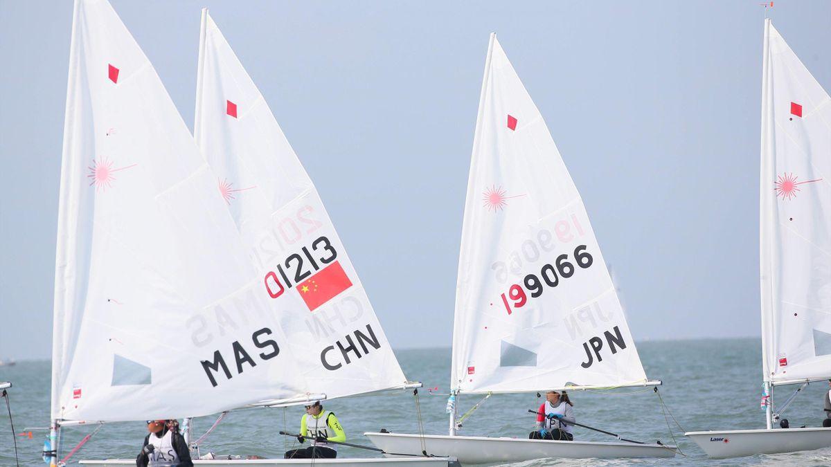 Laser segling
