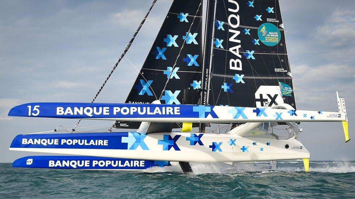 Armel Le Cléac'h (Maxi Banque Populaire IX)