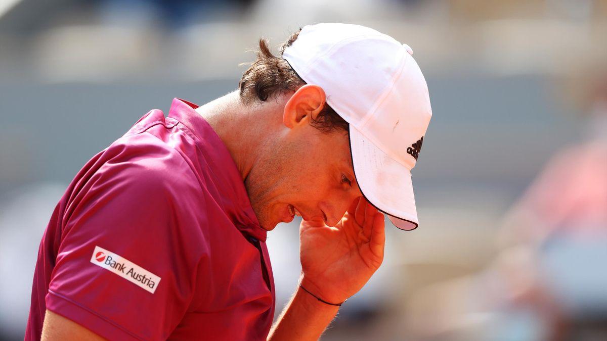 Dominic Thiem in Roland-Garros 2021