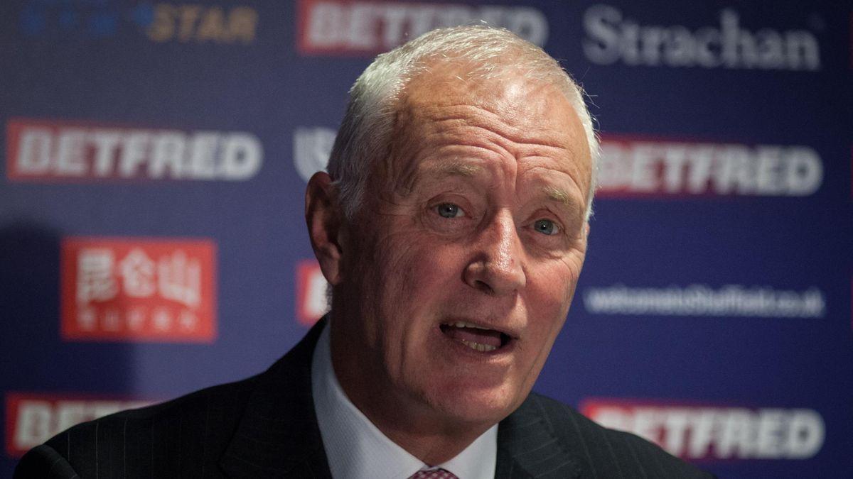 Barry Hearn, Chairman of World Snooker, speaks