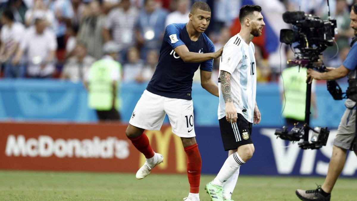 Kylian Mbappé; Lionel Messi
