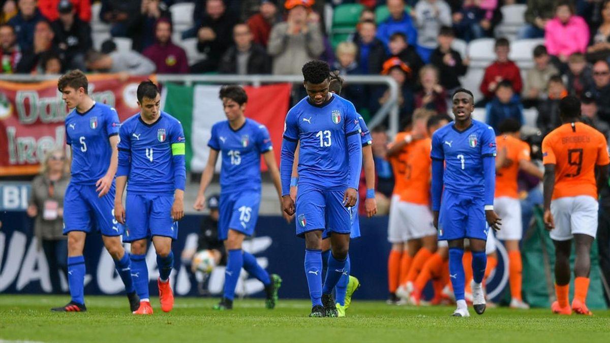 Italia ko nella finale dell'Europeo Under 17 con l'Olanda