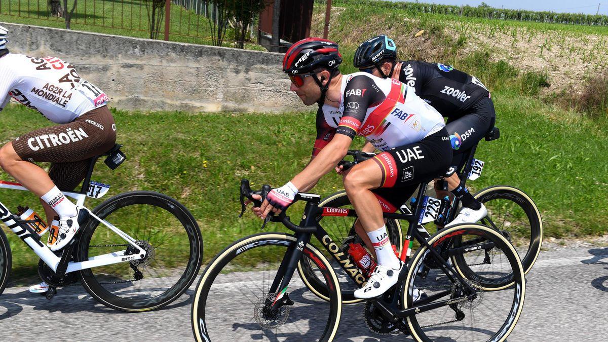 : Diego Ulissi of Italy and UAE Team Emirates i