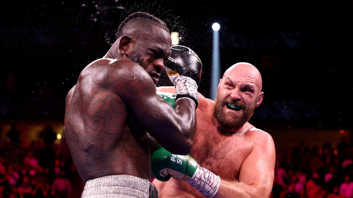 Tyson Fury a battu Deontay Wilder par KO au 11e round