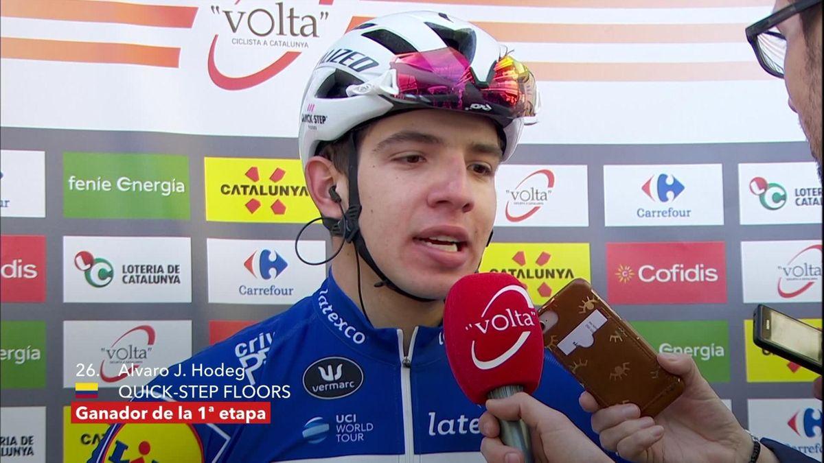 Tour of Catalunya : itw Hodeg