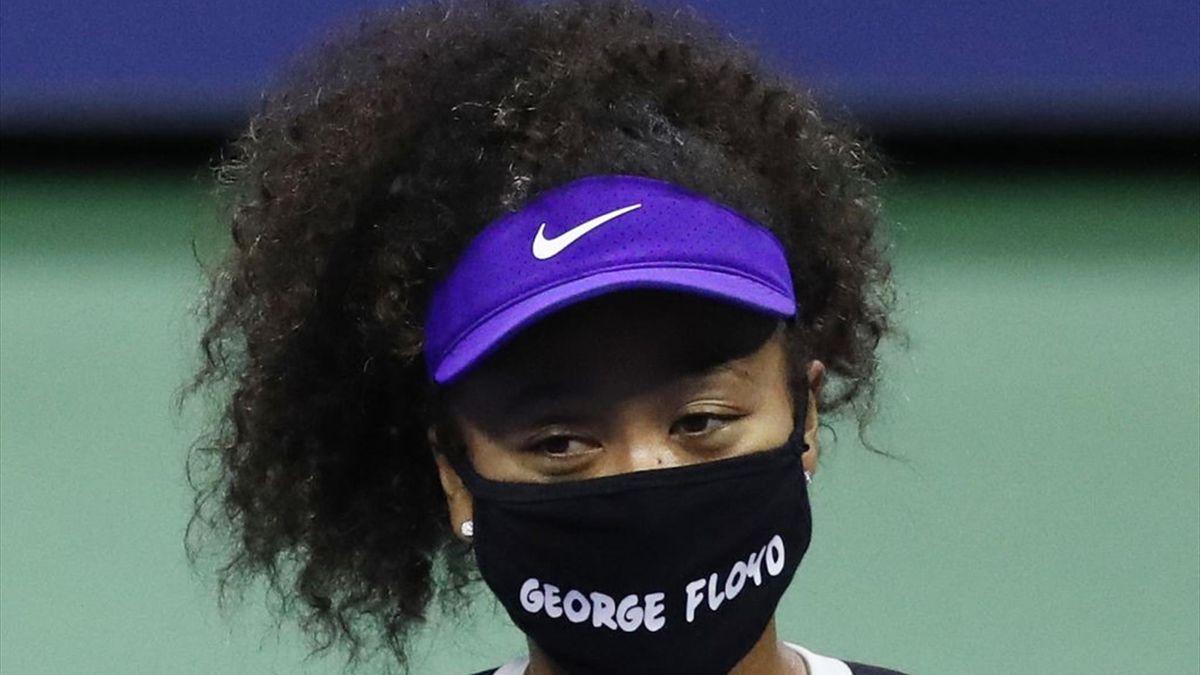 Naomi Osaka støtter Black Lives Matter.