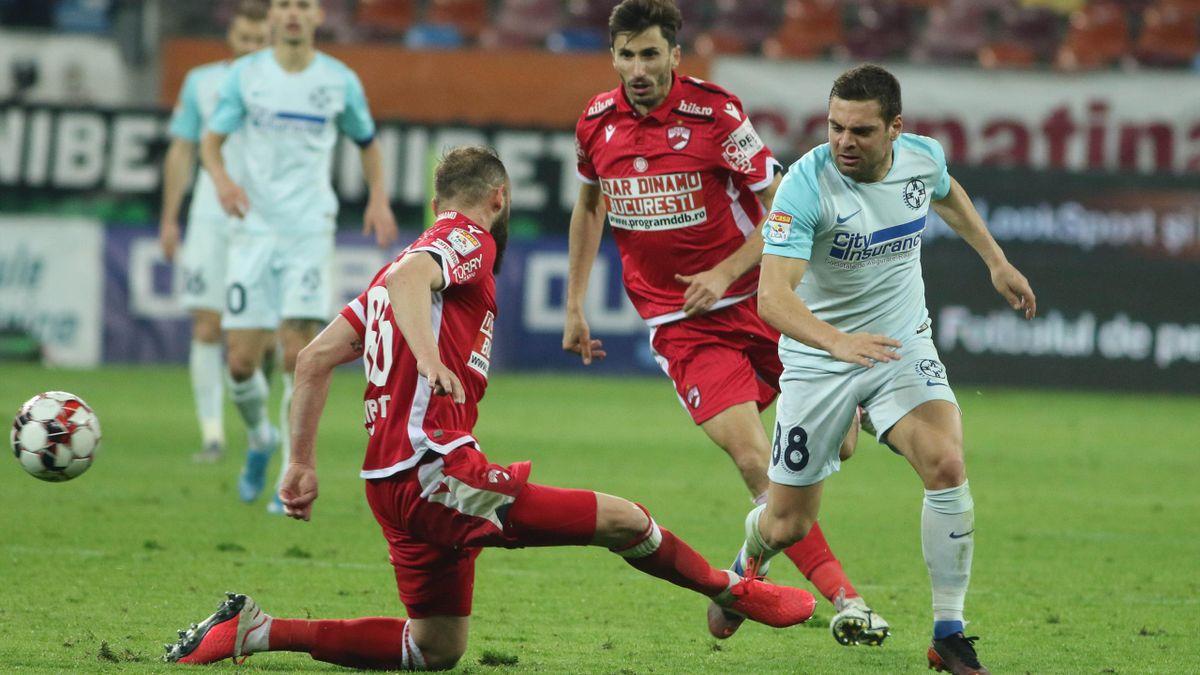 Dinamo - FCSB, în semifinalele Cupei României