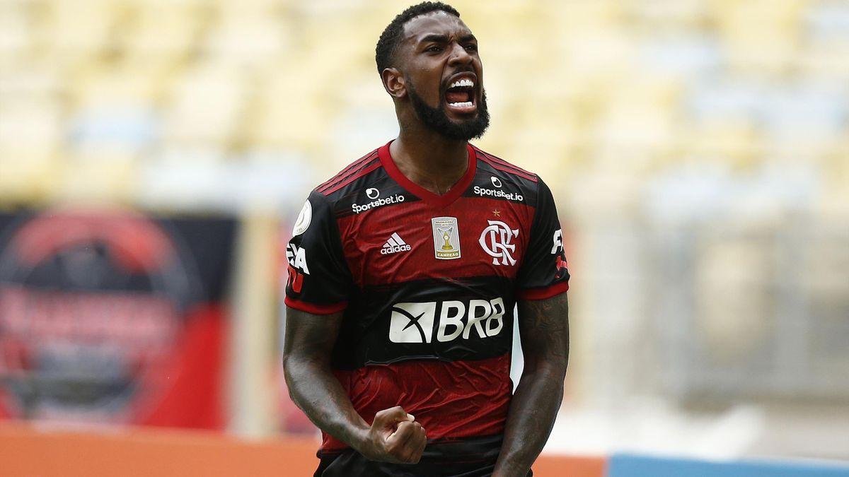 Gerson, le milieu de Flamengo