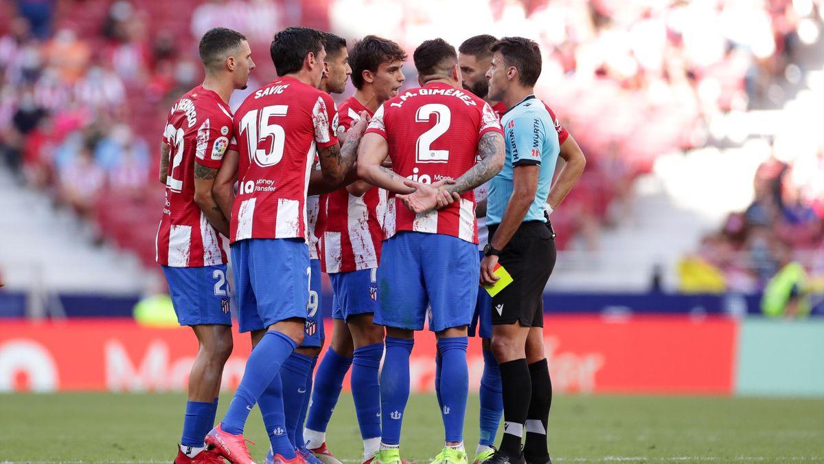 Atlético de Madrid protesta a Gil Manzano