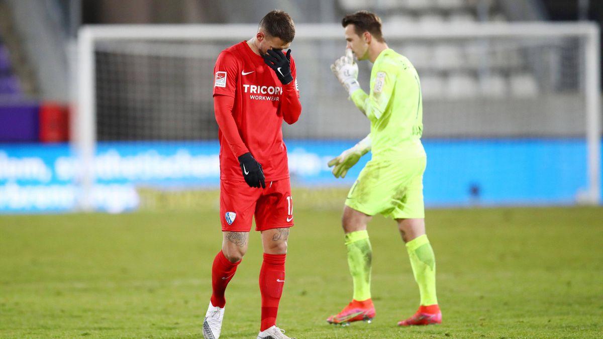 Der VfL Bochum enttäuscht nach der Niederlage bei Erzgebirge Aue