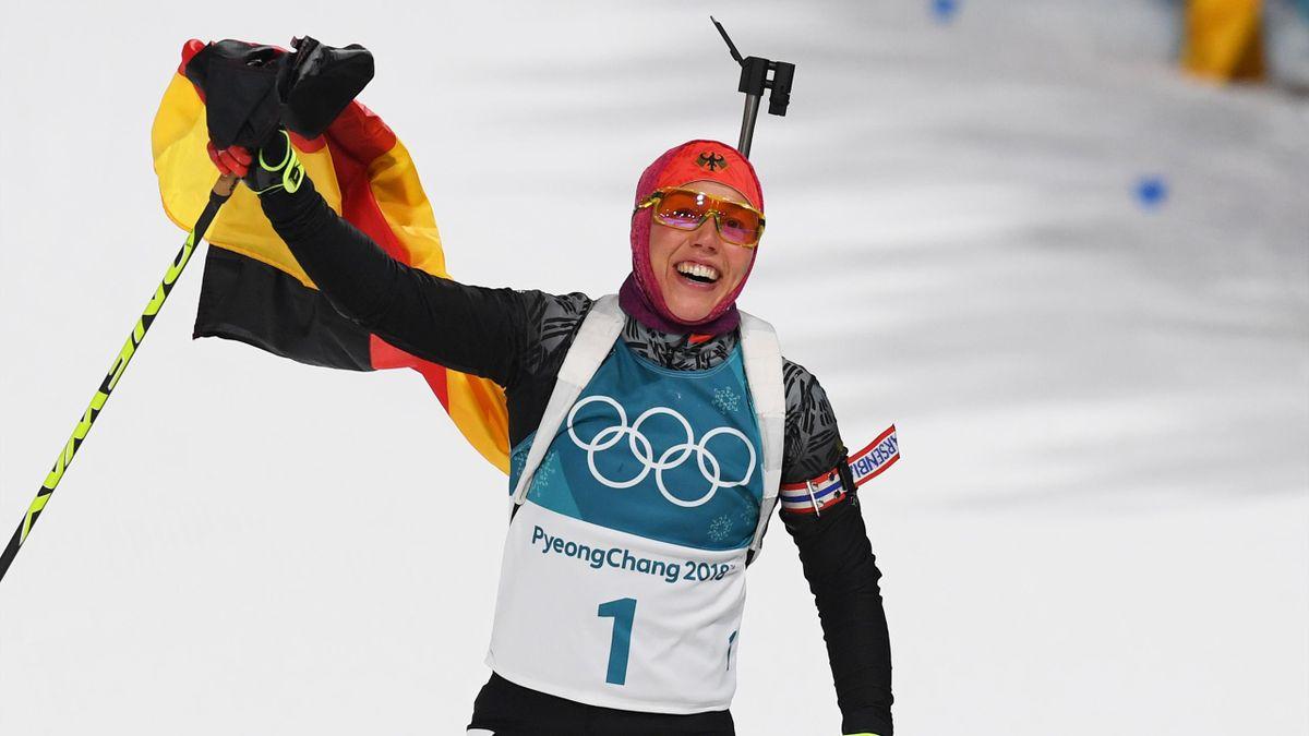 Olympia 2018: Laura Dahlmeier holt Gold in der Verfolgung