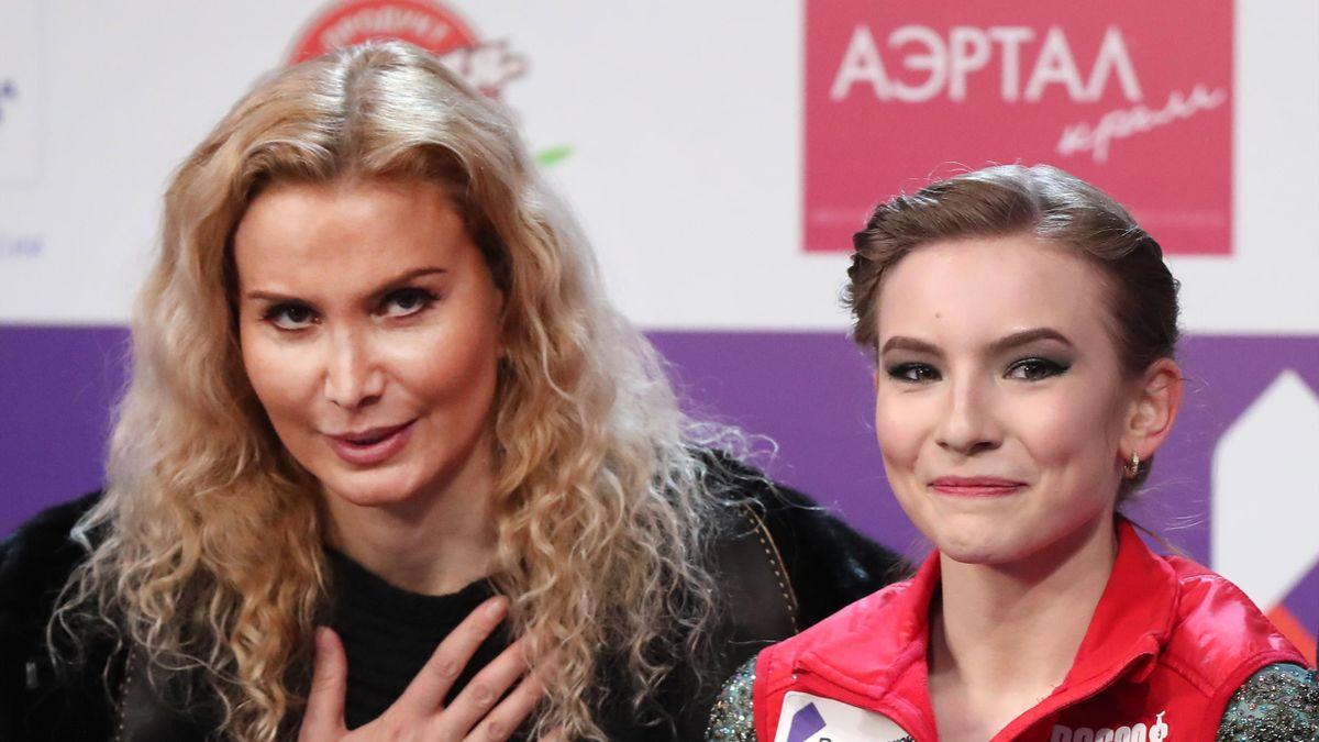 Этери Тутберидзе и Дарья Усачева
