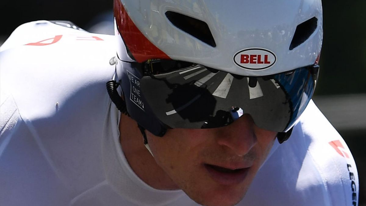 ermany's Andre Greipel crosses the finish line of the thirteenth stage of the 106th edition of the Tour de France cycling race