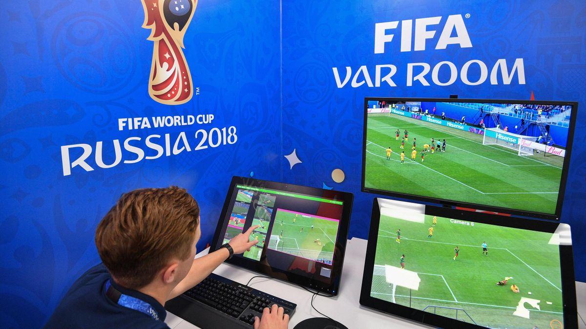La VAR Room de la Coupe du monde 2018