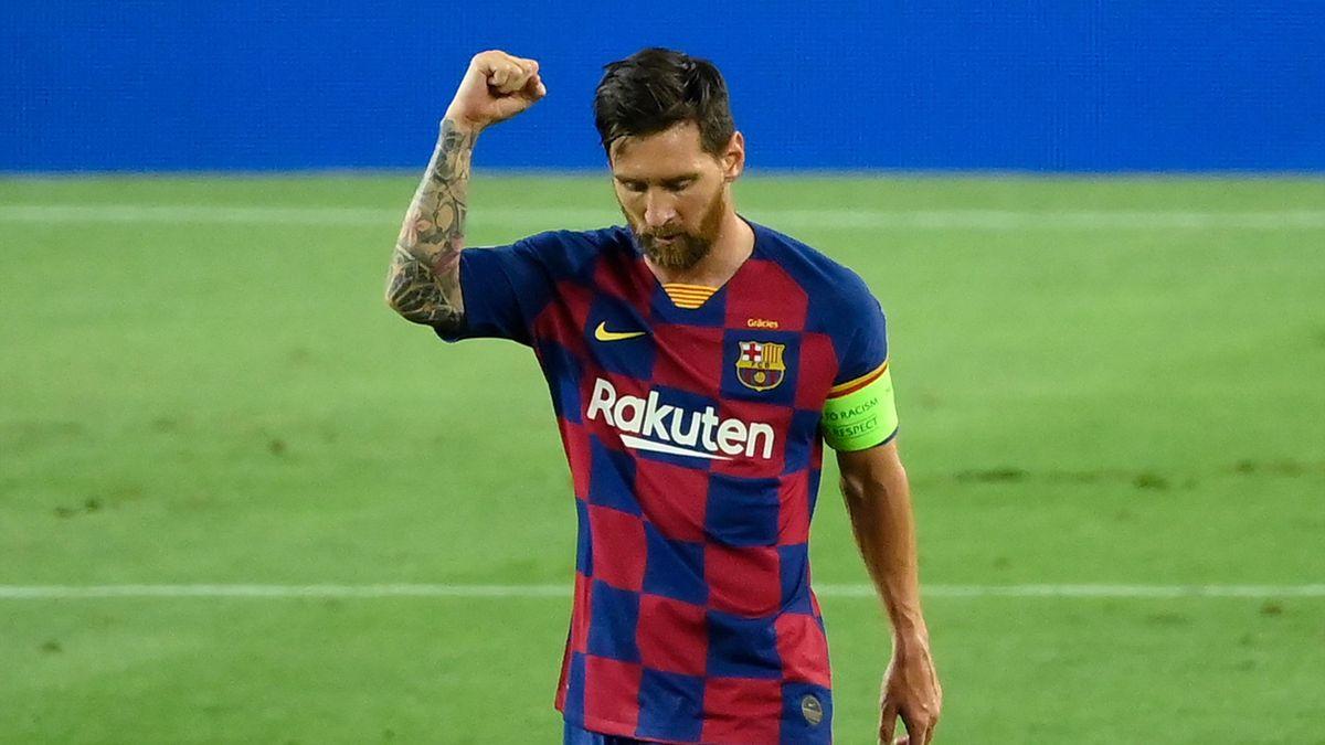 Lionel Messi, căpitanul Barcelonei