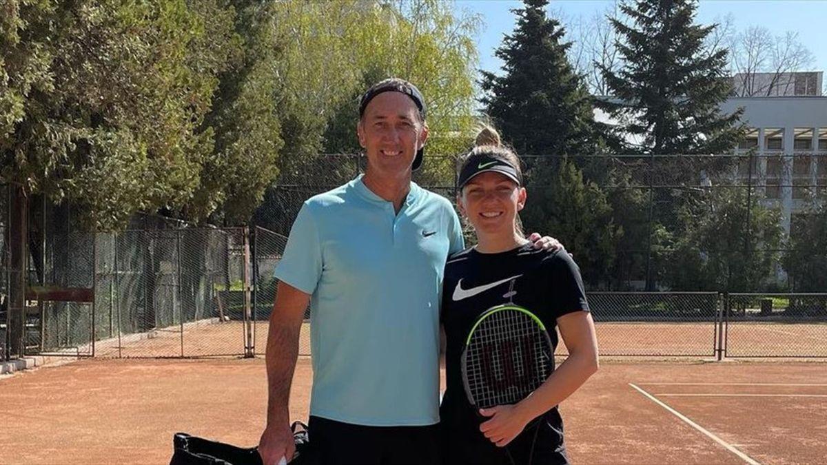 Simona Halep & Darren Cahill