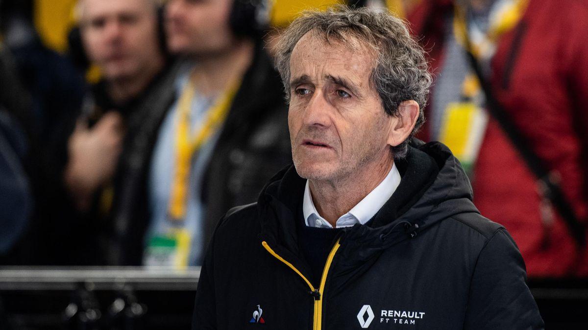 Renault-Berater Alain Prost steht Racing Point kritisch gegenüber