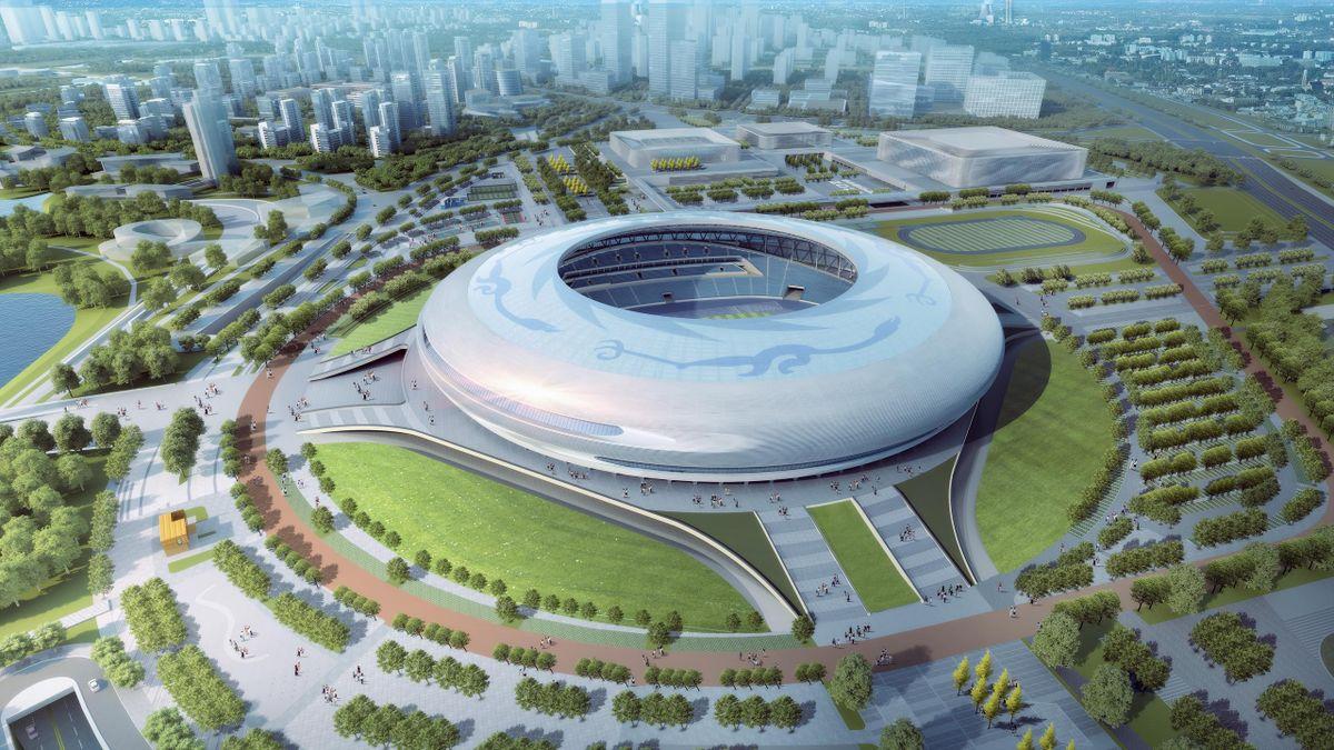 Le Dongan Lake Sports Park Stadium