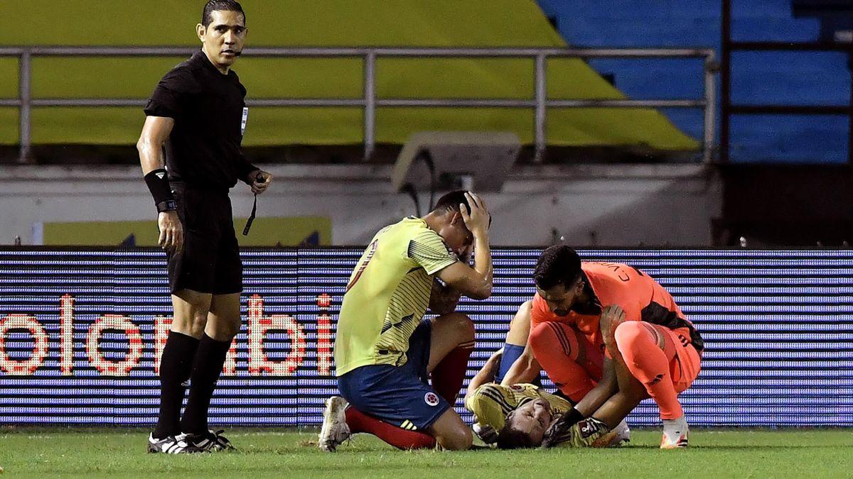 James Rodriguez a început să plângă când și-a dat seama cât de gravă este accidentarea lui Santiago Arias
