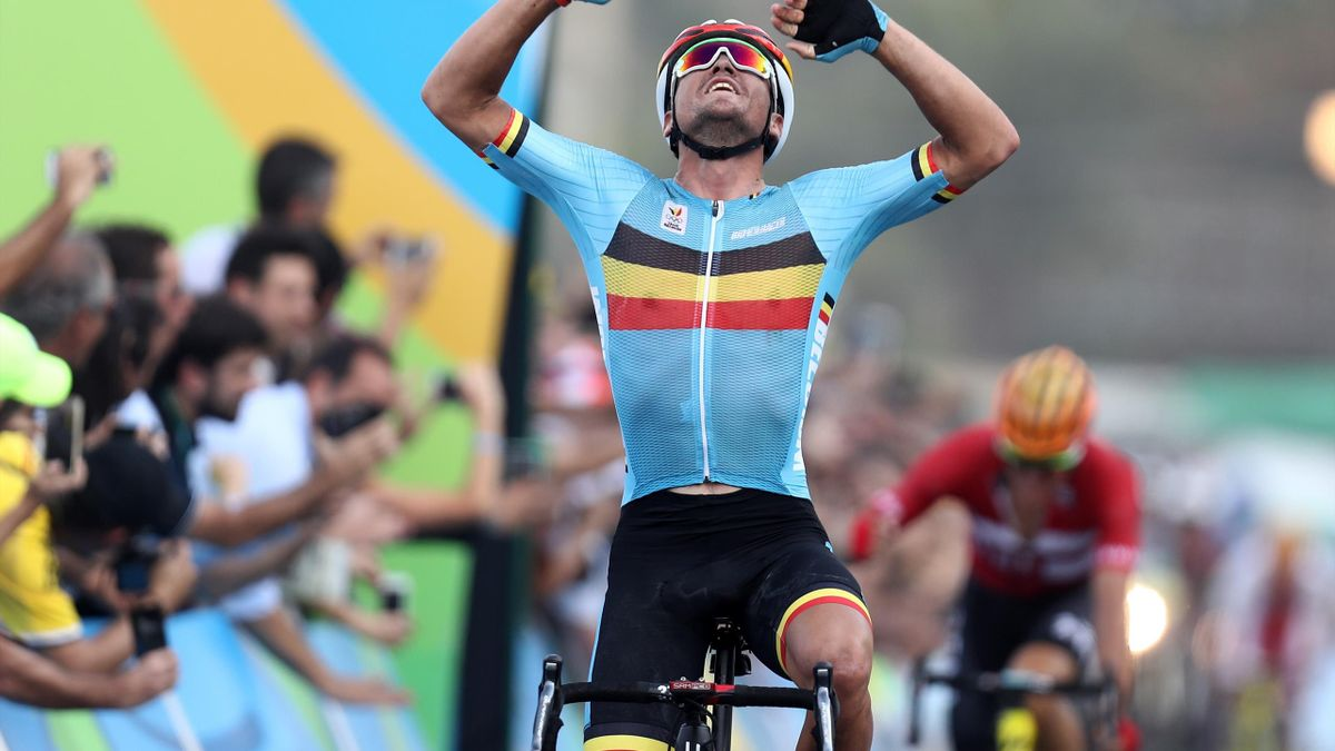 Olympic Momentum Greg Van Avermaet: Greg van Avermaet won the men's individual road race at Rio 2016 after the lead pack crashed on the final climb of the race.