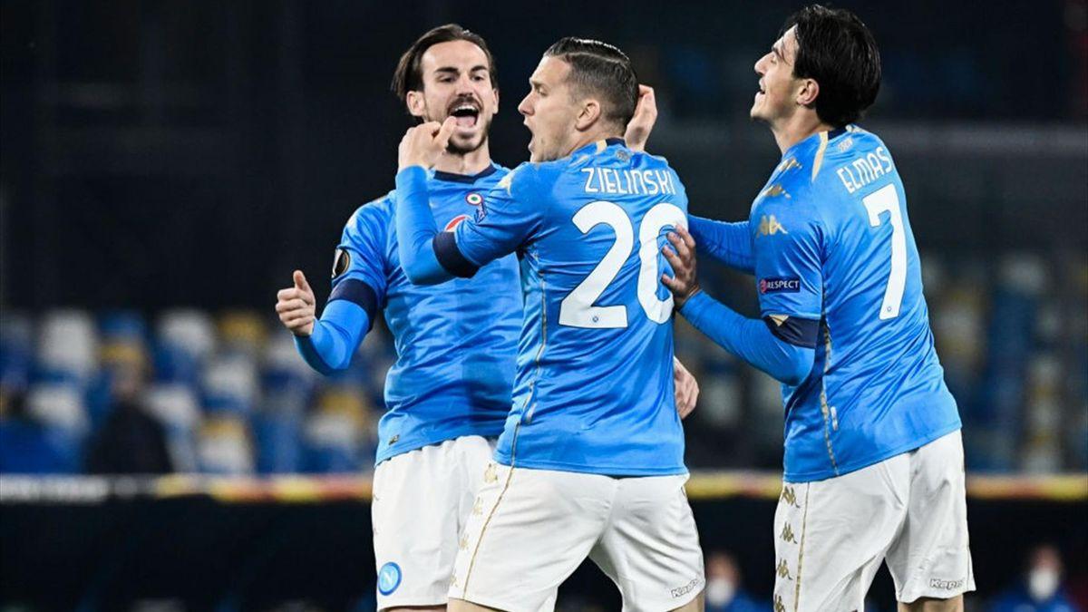 Piotr Zielinski - Napoli-Granada - Europa League 2020-2021