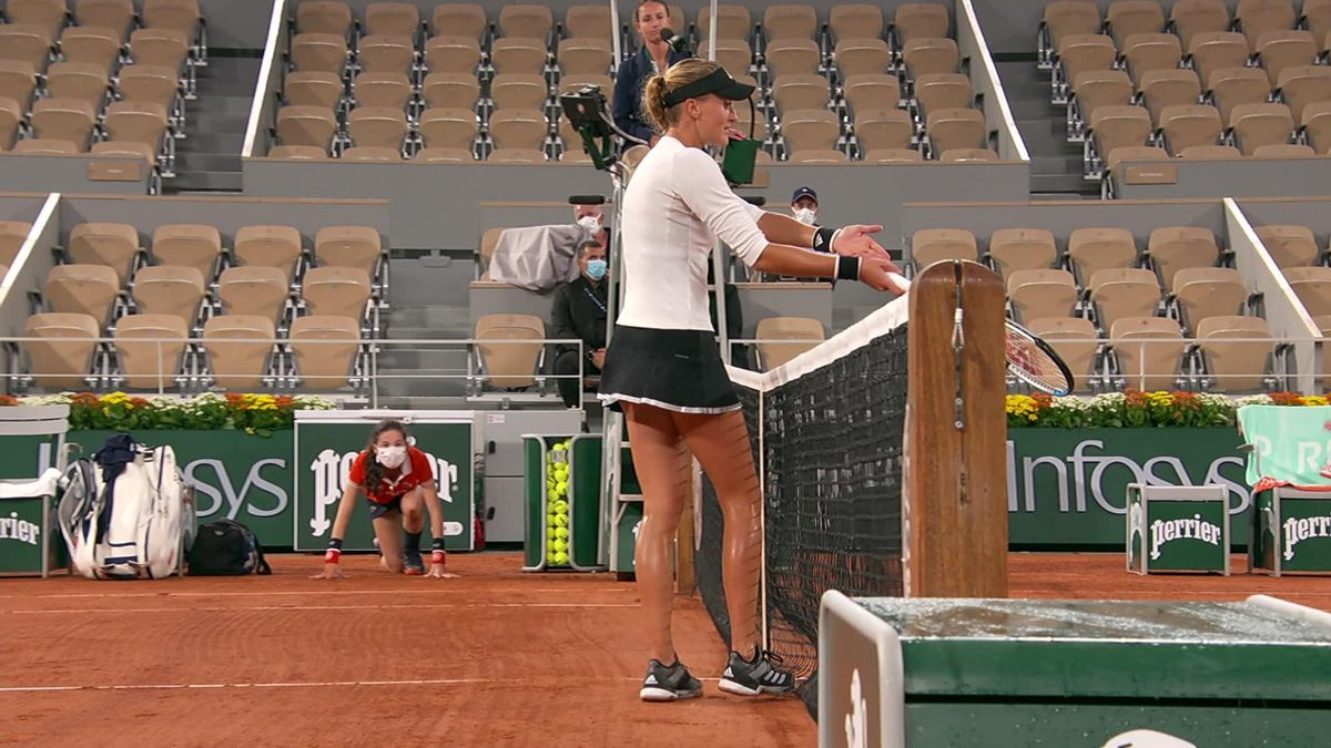Roland-Garros - Mladenovic not agree with umpire