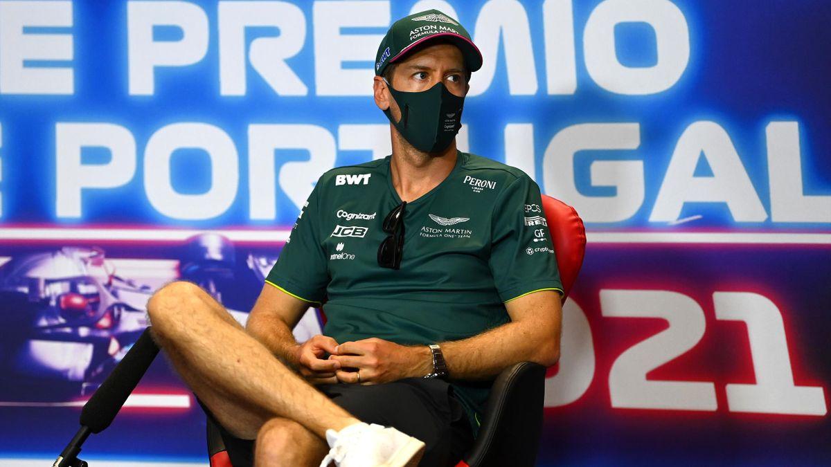 Sebastian Vettel (Aston Martin) machte im Qualifying in Portugal Fortschritte