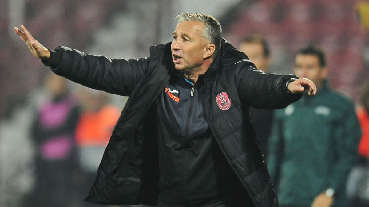 Dan Petrescu crede că CFR Cluj are șanse mici să treac[ăde Dinamo Zagreb