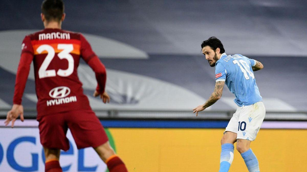 Luis Alberto - Lazio-Roma Serie A 2020-21