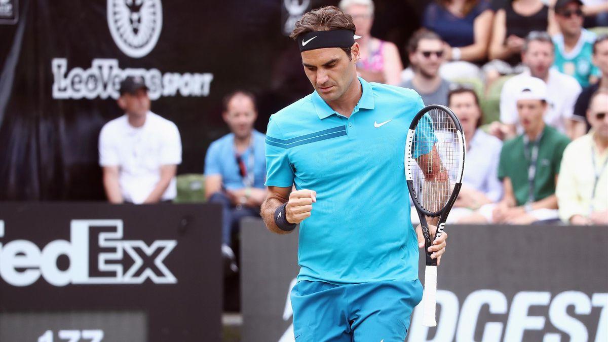 Roger Federer à Stuttgart.