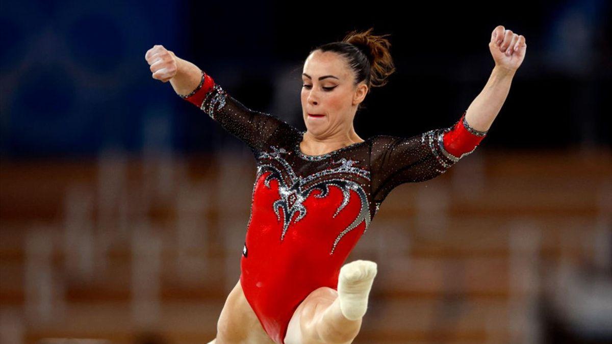 Vanessa Ferrari alle Olimpiad di Tokyo 2020