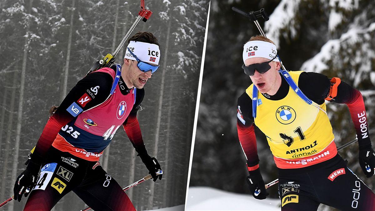 Sturla Laegreid - Johannes Boe, la lutte au sommet