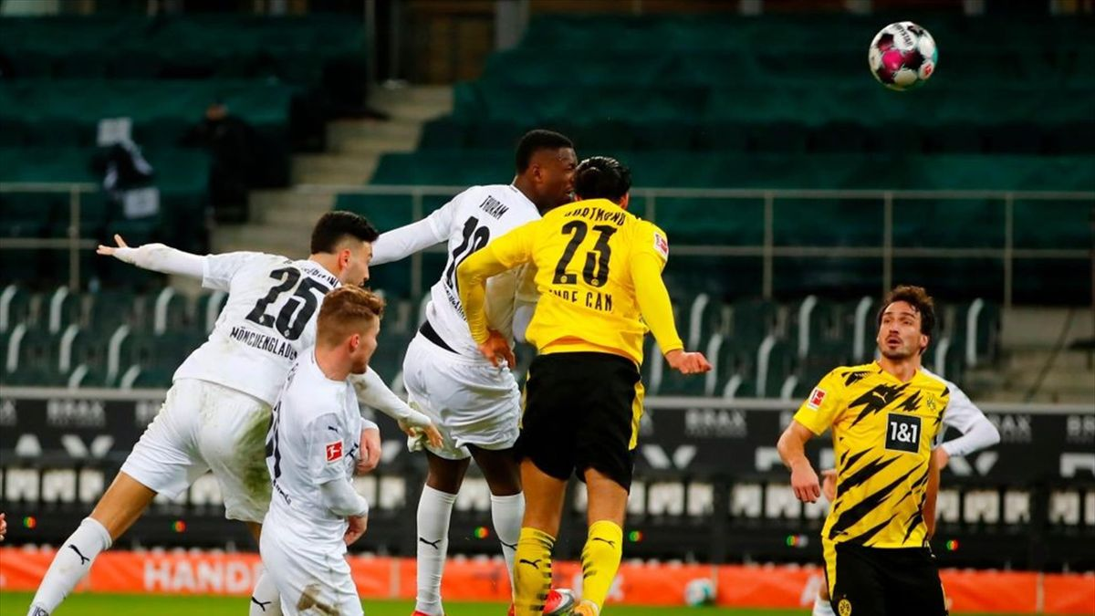 Borussia Mönchengladbach gegen Borussia Dortmund