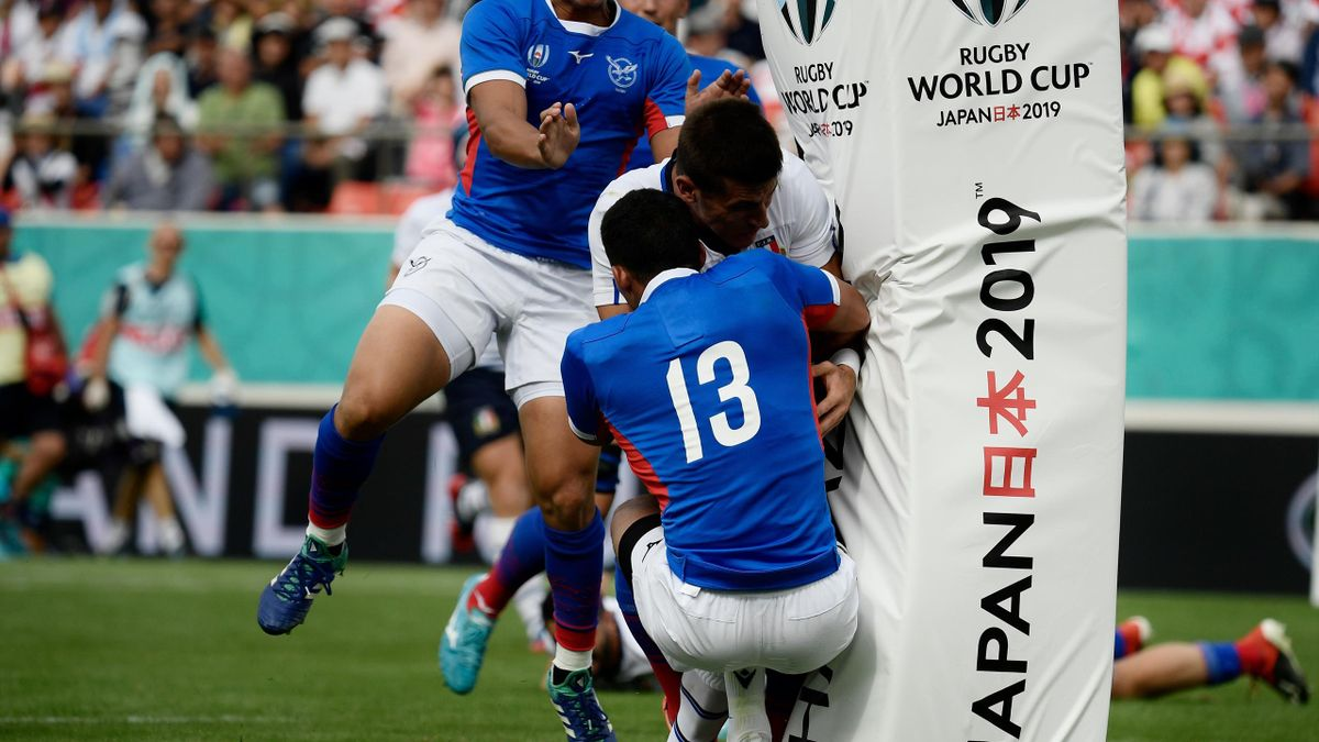 Allan - Italia-Namibia - 2019 Rugby World Cup - Getty Images