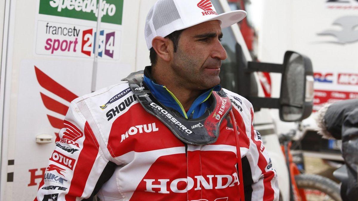 Paulo Goncalves Gonçalves Rally Dakar 2016 Honda Rali