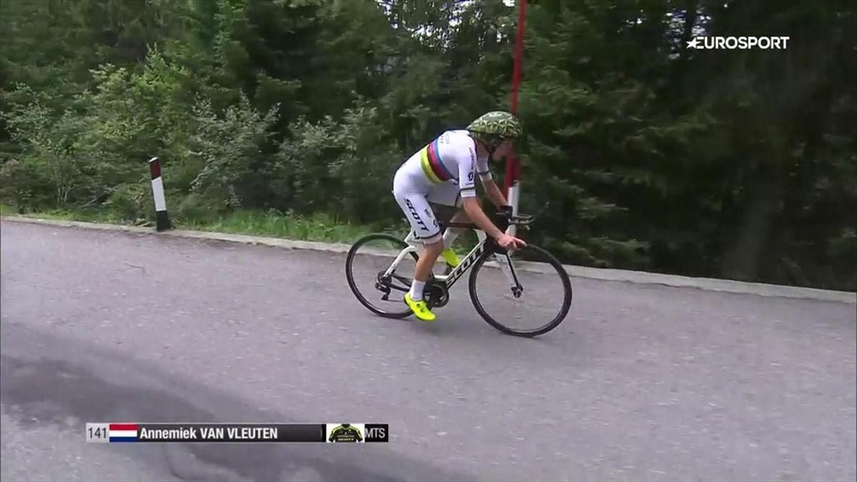 Annemiek van Vleuten wins time trial Giro Rosa