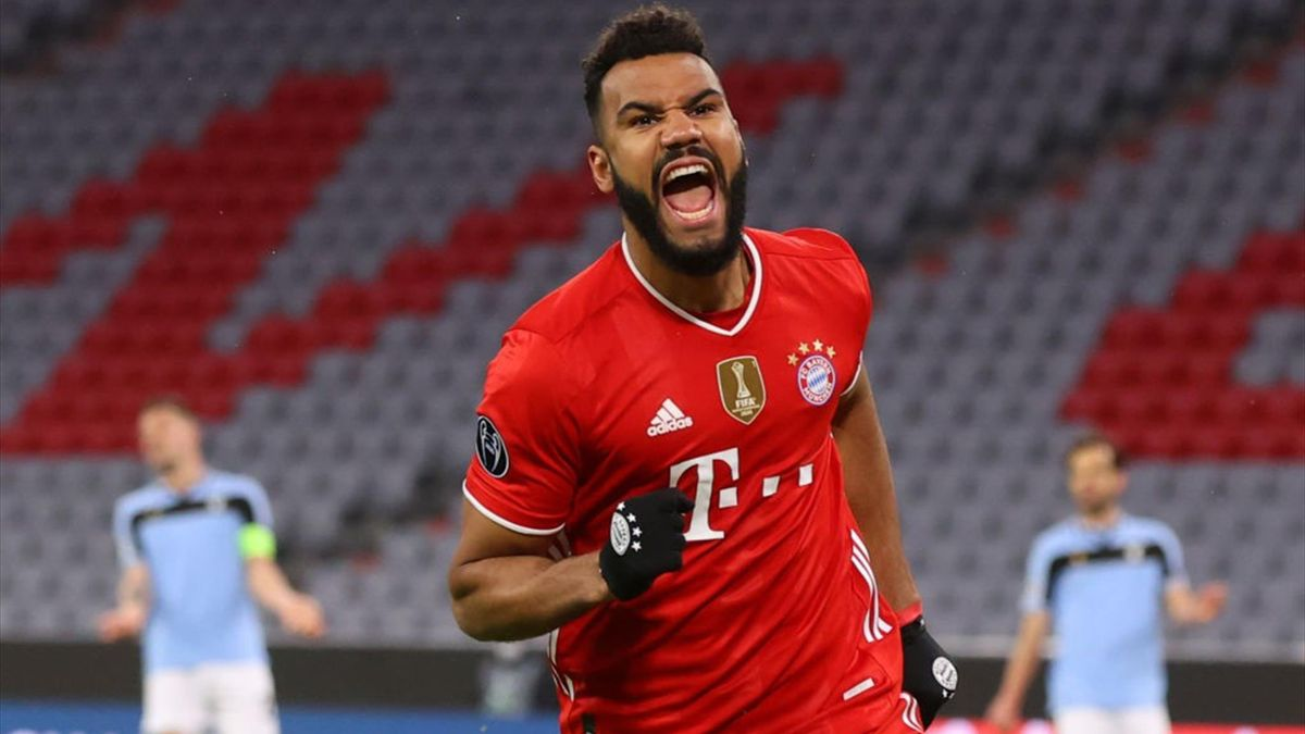 Choupo-Moting esulta dopo un gol in Bayern Monaco-Lazio - Champions League 2020/2021 - Getty Images