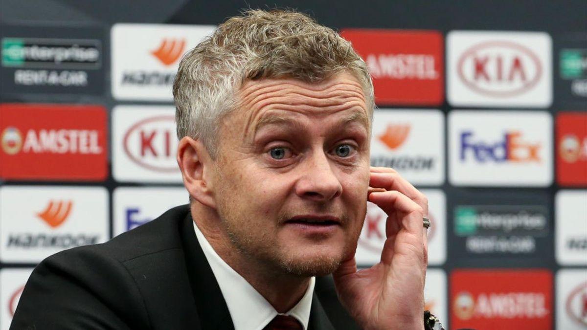 Coach of Manchester United Ole Gunnar Solskjaer