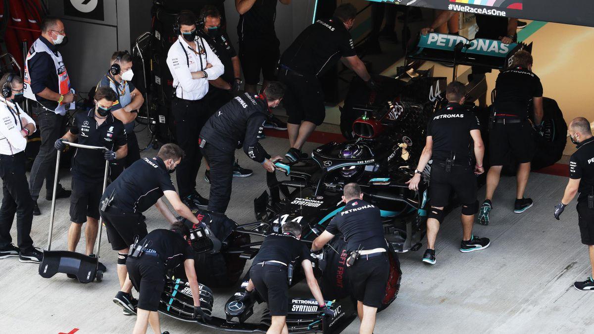 Mercedes vermeldet einen weiteren positiven Coronafall