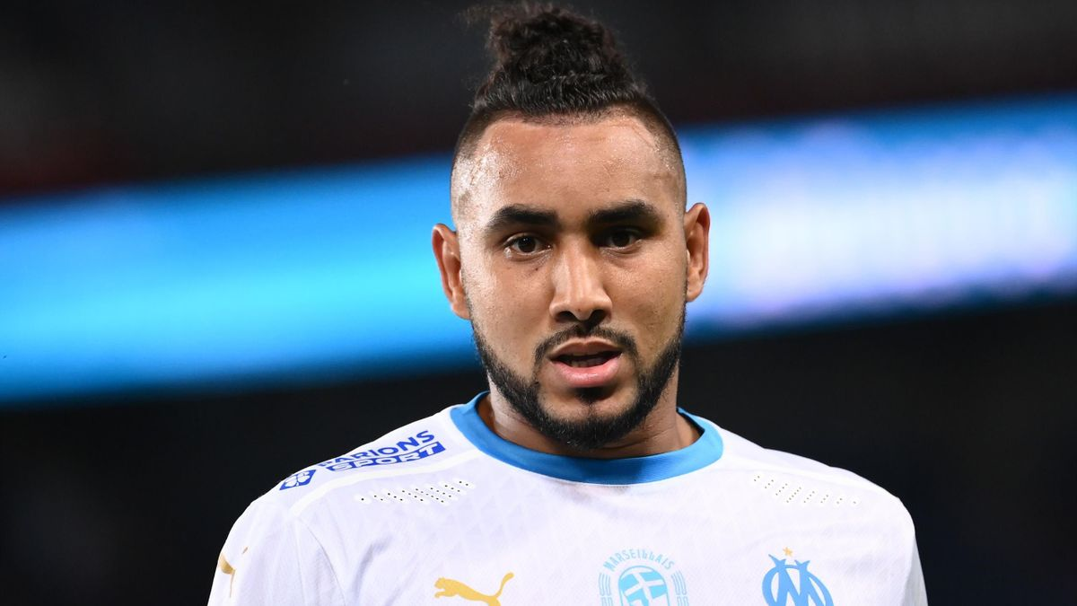 Dimitri Payet lors du match opposant le Paris Saint-Germain à l'Olympique de Marseille, le 13 septembre 2020, en Ligue 1